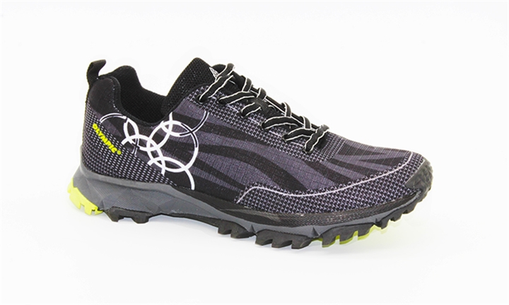 Olympic Men's Flame Sneaker(Black & Lime) for R329