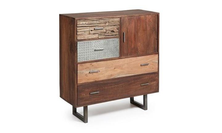 Loft Cabinet 4 Drawer 1 Door for R17999