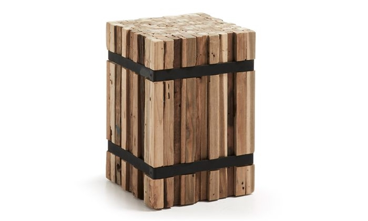 Irma Decorative Stand Wood Natural 45X32 for R3499