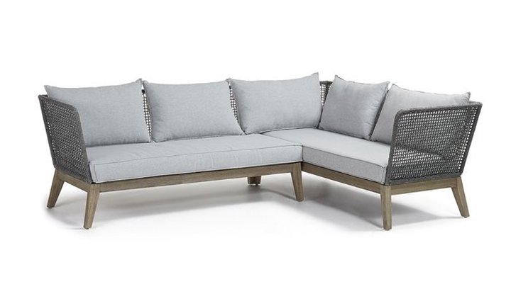 Relax Sofa Corner Acacia Grey Wash Rope Dark Grey for R40999