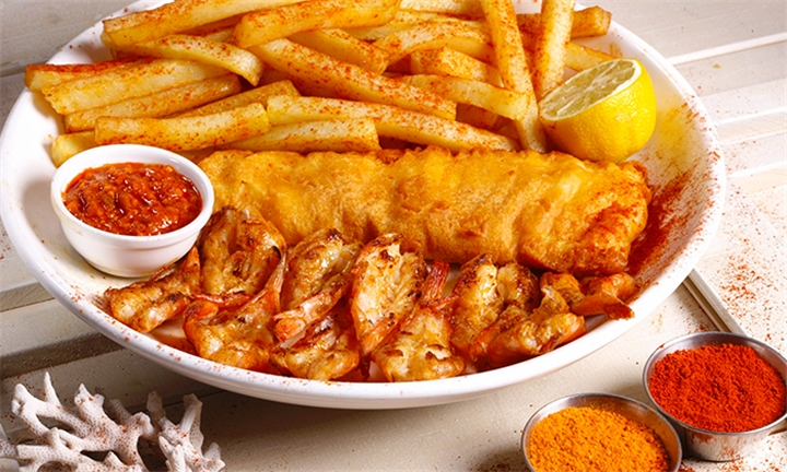 Pacific Meal for Two at Jimmy's Killer Fish and Chips – Florida