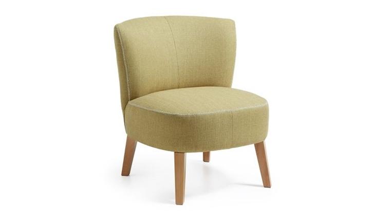 Jim Armchair Leg Wood Fabric for R4499