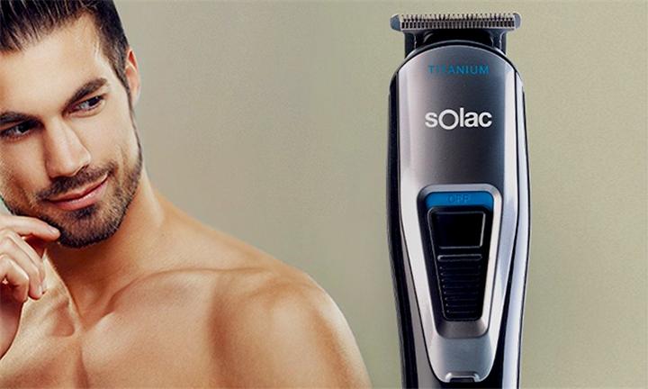 Solac Mens Face Styler Hair Clipper for R569