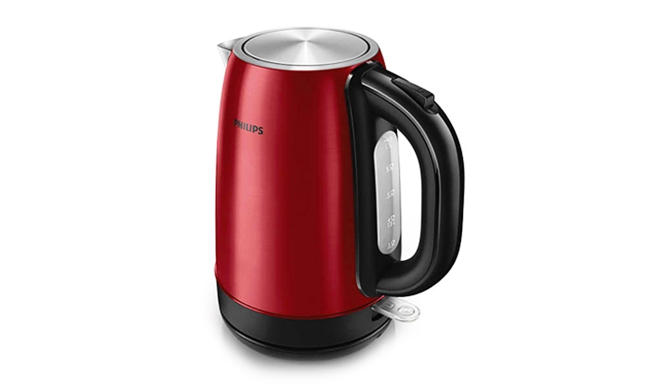 Philips Stainless Steel 1.7L Kettle for R549