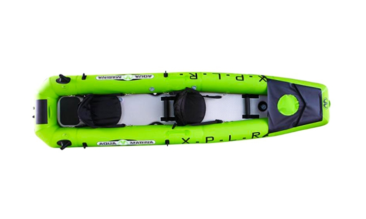 Aqua Marina X.P.L.R. Inflatable Kayak (Single) with T-18 Motor for R14319