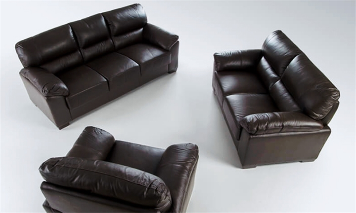 Sancho Leather 3 Piece Lounge Suite for R20999 + Free Delivery