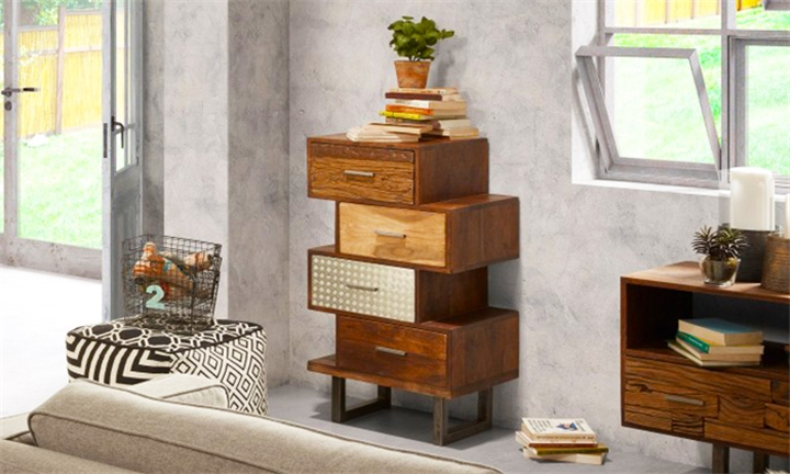 La Forma Loft Cabinet with 4 Drawers for R6999