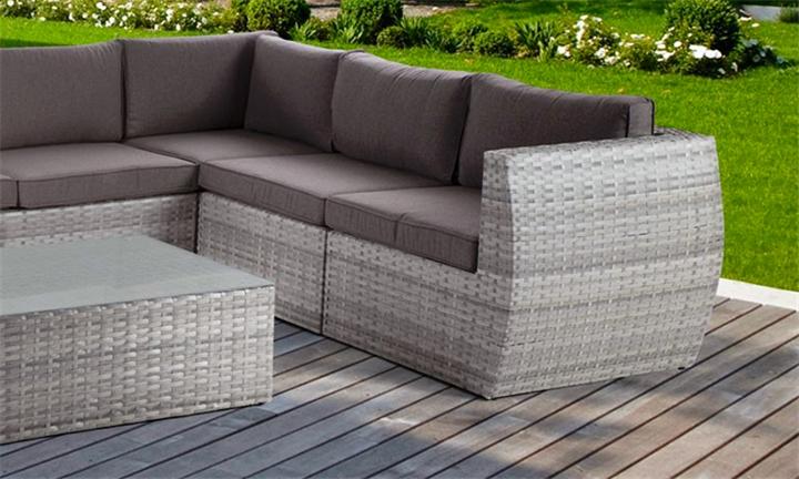 Monaco Corner Patio Lounge Set (Titanium) for R18999 + Free Delivery