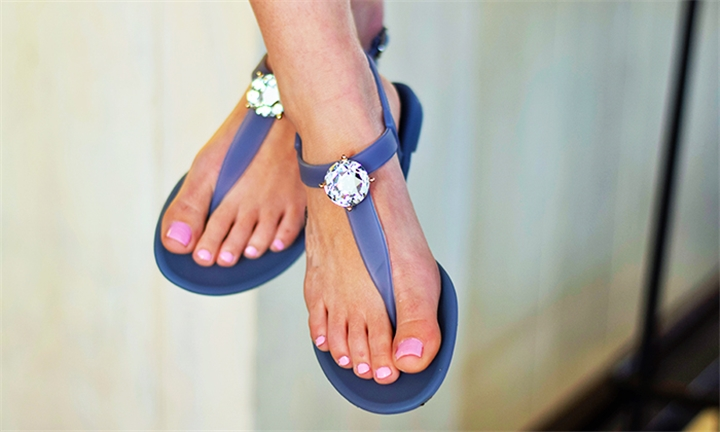 Sandals & Me Saint Claire Flats in Pigeon Grey for R349