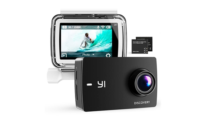 YI Discovery Action Camera with 16MP Real 4K & WiFi with 150° Wide Angle for R1199