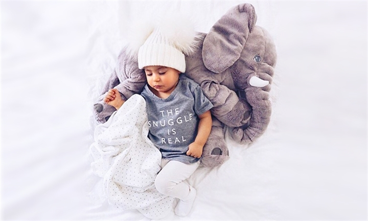 TinyTots Large Plush Elephant Baby Pillow & Toy for R199