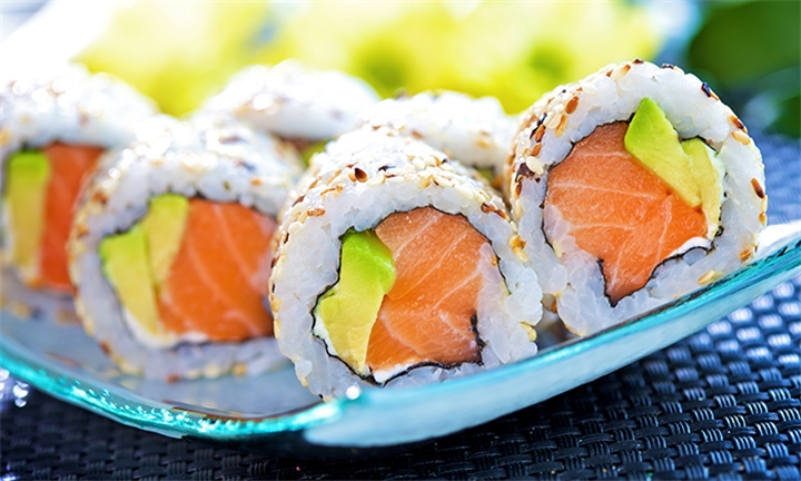 40-Piece Salmon Sushi Platter at Yasong Restaurant