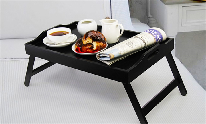 Fine Living Tray Table in Black for R279