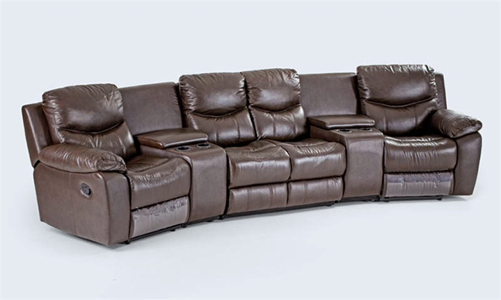 Christopher Leather Home Theatre Suite (4 Seater) for R17999 + Free Delivery