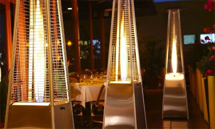 Designer Pyramid Patio Gas Heater for R3399