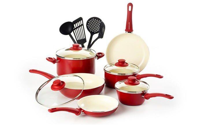 Greenlife Cookware Set Set of 14 for R1999