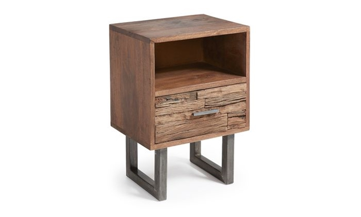 Loft Bedside Table Mango Wood for R3999