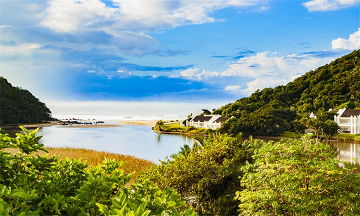 Kwa-Zulu Natal: 1 or 2-Night Anytime Stay for Two in a Sea Facing Room Including Breakfast at The Estuary Hotel & Spa