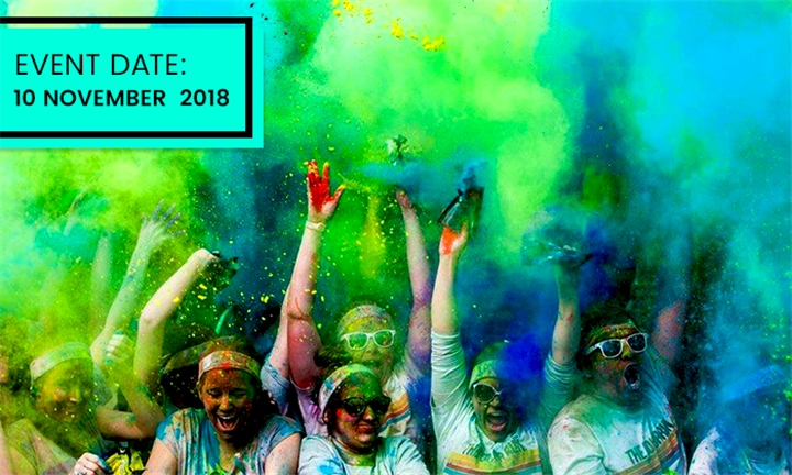 Ticket for the Color Run Cape Town – 10 November 2018