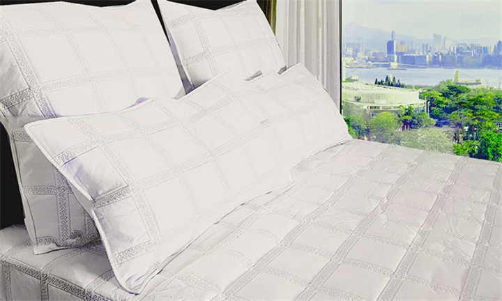 Embroided Percale 5 Piece Quilt Set for R999