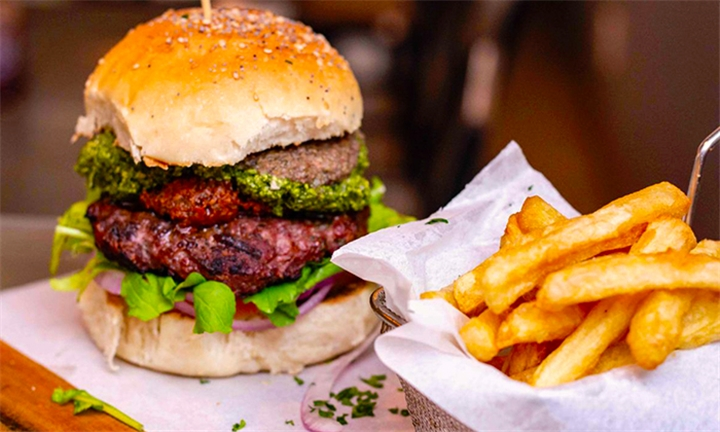 Choice of Burger for up to Four at The Press Bar & Grill