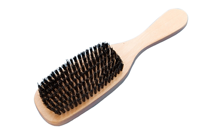 Lucky Wooden Paddle Bristle Brush (Large) for R39