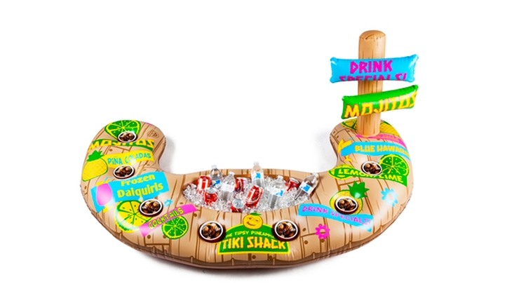 BigMouth Inflatable Swim-up Bar/Cooler (Tiki Shack) for R499