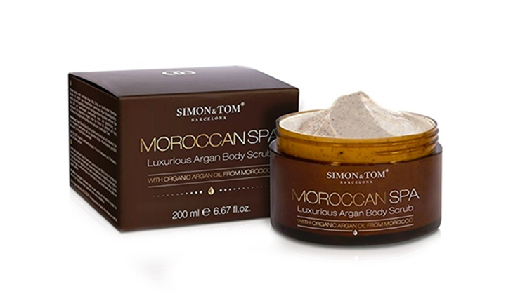 Simon and Tom Moroccan SPA Argan Body Scrub for R179