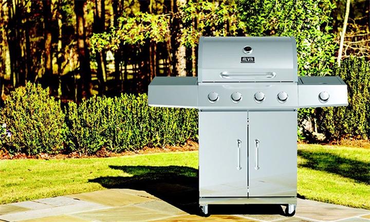 Alva Kalahari 4 Burner Stainless Steel Gas BBQ for R5199