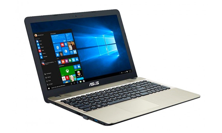 Asus 15.6'' VivoBook with Win10 & Max Intel Core N3060 Celeron 4GB & 500GB for R4199