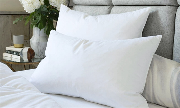 Goose Feather Down Pillow (45 x 70cm) (Set of 2) for R549 + Free Delivery