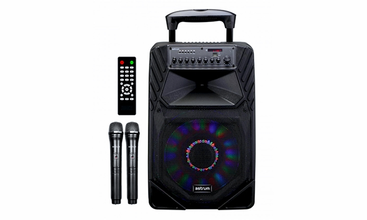 Astrum Smart Trolley Multimedia Speaker 80W + Smart App / Tweeters for R2499
