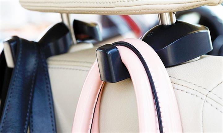 CRX Universal Back Seat Headrest Bag Holder Hooks Set of 2 for R179
