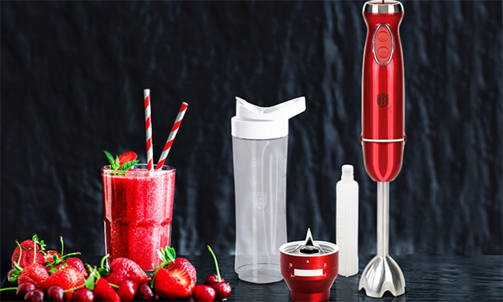 Berlinger Haus Multifunction Stick Blender with Bottle for R999