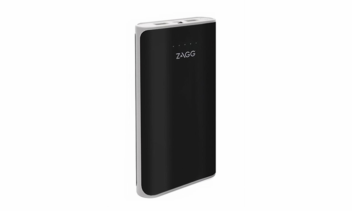 Zagg Ignition 12 Power Bank 12000 MAh Capacity with Flash Light-Black for R349