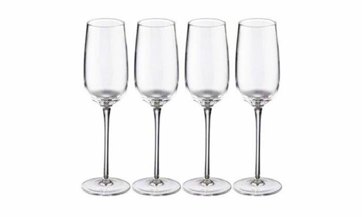 Jamie Oliver Vintage Champagne Glasses Set of 4 for R269