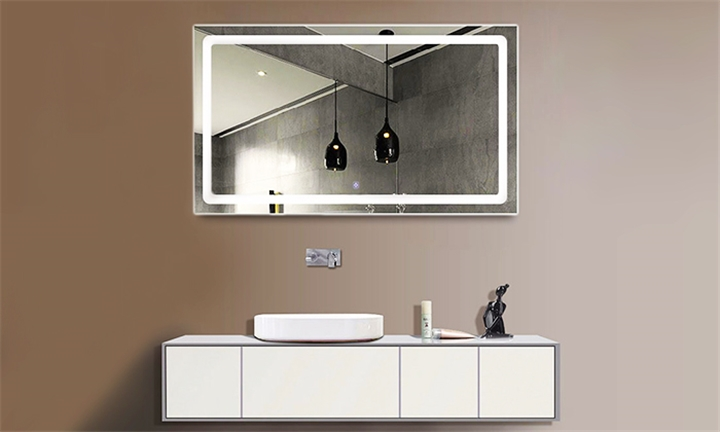 Lifestyle LED Bathroom Mirror with Touch Button for R999