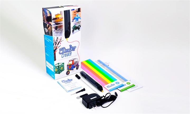 3Doodler Create 3D Printing Pen & EU Plug for R1399