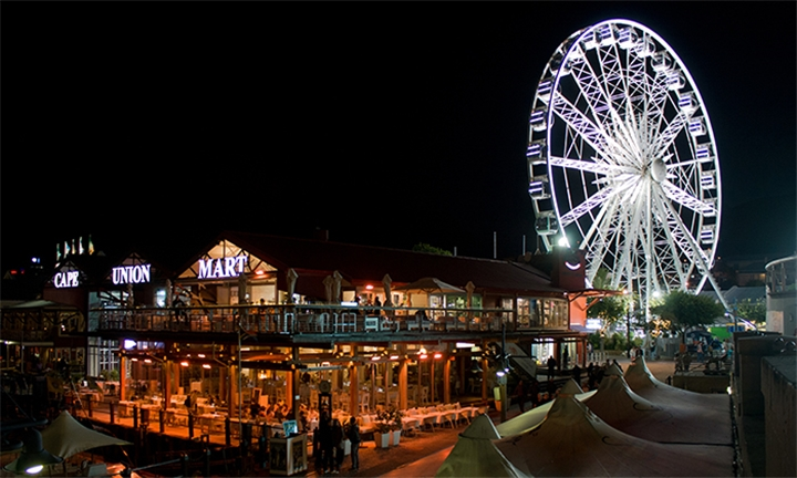 One Adult Ticket for the Cape Wheel, V&A Waterfront