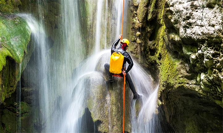 Full Day Canyoning Adventure for up to Four with Frixion Adventures