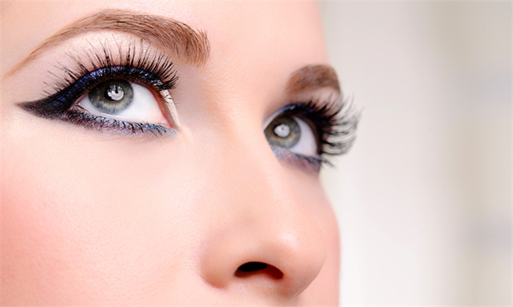 Full Set of Eyelash Extensions with Optional 2-Week Fill at Rejuvenations Health and Beauty Salon