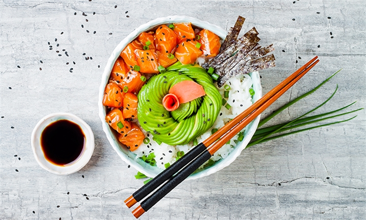 Choice of Poke Bowls or Noodles for up to Four at Risushi