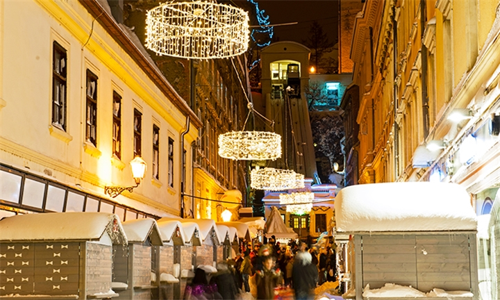 Croatia: 7-Night Christmas and New Year Package for Two Including Breakfast, Transfers and Sightseeing