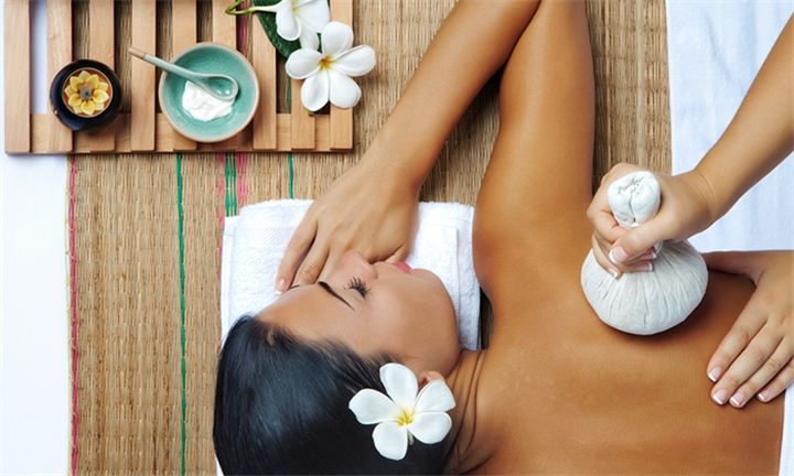 Century City: 90-Minute Choice of Full Body Thai Massages with Body Scrub or Thai Reflexology Session with Thai with Me