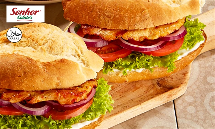 Choice of Burgers with Side Each for Two at Senhor Calisto's – Montecasino