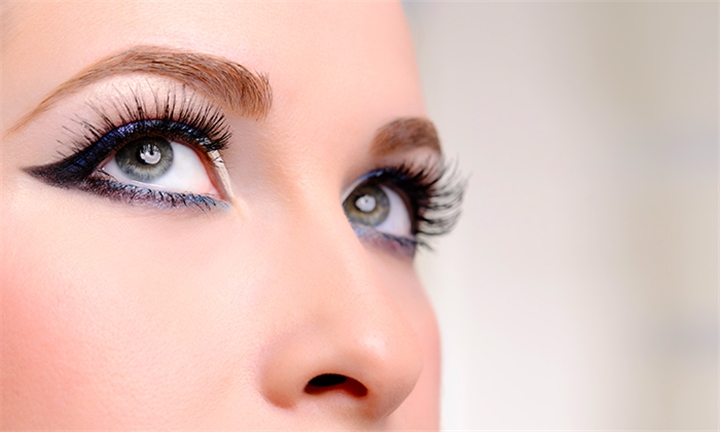 Eyelash Extensions with Optional 2-Week Fill at Ma Beaut'e Salon