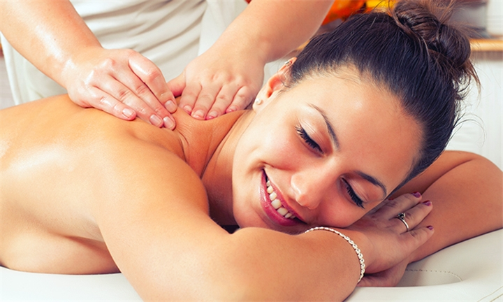 Choice of Massage with Express Manicure or Pedicure for One or Two at Natural Body Therapy