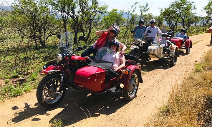 5-Hour Cradle of Humankind Sidecar Day Ride for Two with Ural Sidecar Tours