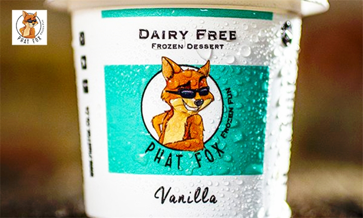 Choice of 3 x 500ml Dairy Free Ice Cream Tubs at Phat Fox