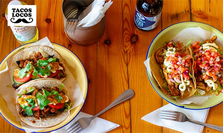 Choice of Tacos or Burritos for Two at Tacos Locos